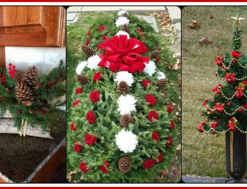 Holiday Grave Decoration